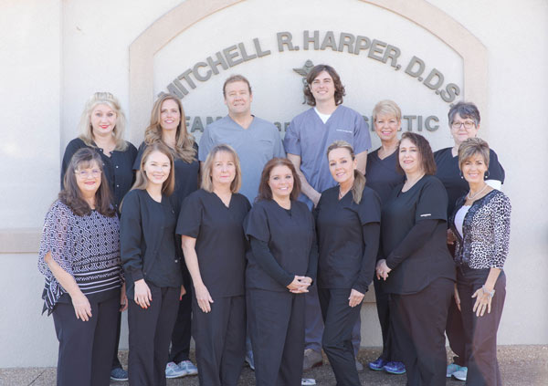 Dr. Mitchell Harper, DDS, Dr. Dawson Urrutia, and the friendly, caring team at Harper Dental in Fort Smith, AR